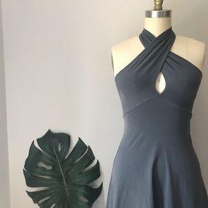 American Apparel • Multi-Way Jersey Mini Dress